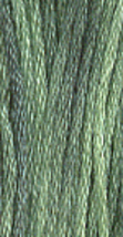 Mistletoe (0113) 6 strand hand-dyed cotton floss Gentle Art Sampler Threads - $2.15