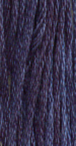 Midnight (0240) 6 strand hand-dyed cotton floss Gentle Art Sampler Threads GAST - $2.15