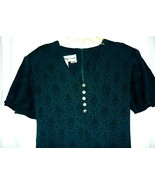 Betsy  Lauren  Teal  Vintage Dress  sz. 5/6 - $5.00