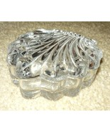 Mermaids Ocean Jewel Glass  Shell Trinket Box  - $10.00