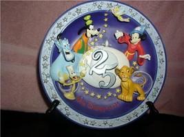 DISNEY Disney 25 years Anniversary Mickey Sorcerer Goofy Simba tink etc ... - $67.72