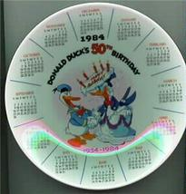 DISNEY Donald Duck 50th Birthday PLATE - $28.05