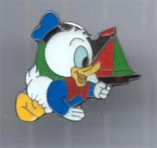 Disney  Baby Donald Duck with boat  prp Pin/Pins - $15.47