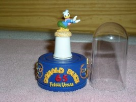 Disney Donald Duck Doing the Hula Thimble stand & dome - $57.74