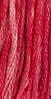 Hibiscus (0780) 6 strand hand-dyed cotton floss Gentle Art Sampler Threads GAST