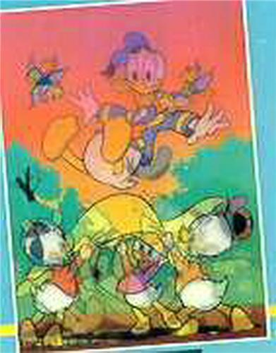 Primary image for Disney - Donald Duck - Flying - 3d - Lenticular Print