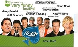 The Comedy Festival @ CAESARS PALACE Las Vegas 2008 5.5 x 8.5 Promo Card - $5.95