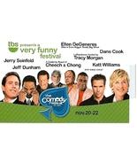 The Comedy Festival @ CAESARS PALACE Las Vegas 2008 5.5 x 8.5 Promo Card - $3.95