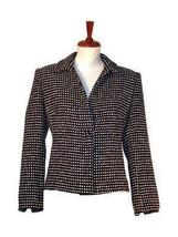 Chekked Blazer, Jacket made with Surialpaca wool - $244.00