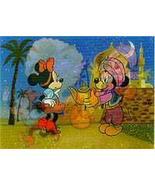 Disney Goofy Magic Lamp W.D.P. 3d Lenticular Print - $7.99