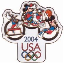 Disney  Goofy Mickey Minnie Donald Fab 4 Jumbo Pin/Pins - $33.50