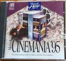 Cinemania '95 (used Windows CD-ROM) - $12.00