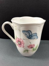 Butterfly Meadow by Lenox Porcelain Swallowtail Mug Cup  - $28.71