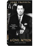 A Civil Action...Starring: John Travolta, William H. Macy, Robert Duvall... - $7.00