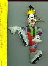 Disney Goofy Roller blading  Ornament RARE find WOW! - $24.18