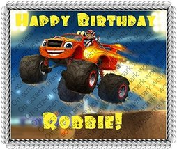 Blaze and the Monster Machines Edible Image Cake Topper [Misc.] - $10.50