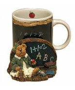 "Boyds Bears Accessory- MUG- ""Miss Wise. Teachers Count"" Style #390523 -NIB - $28.99"