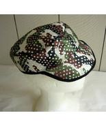 Glitzy Camo. Hat w/visor-M  - $5.00
