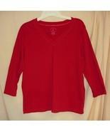 Red V-Neck Jersey 8/10 - $5.00