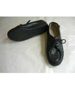 Black Comfort Working Shoes- 6.5 - $10.00