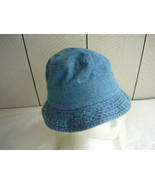 Toddler Light Blue Denim 'Fishing' Hat - $5.00