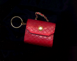 Red Handbag Change Purse / Keyring - $5.00