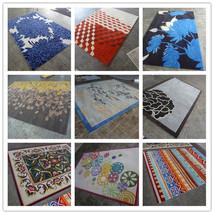 9x12ft Wool Carpet Pure New Zealand Wool Area Rug Custom Design Your Photo  - $1,786.00