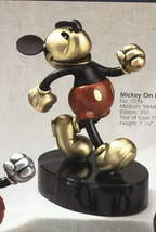 Disney - Mickey Running - On Parade - Metal Art - Pewter LE 350 figurine  2 - $432.02