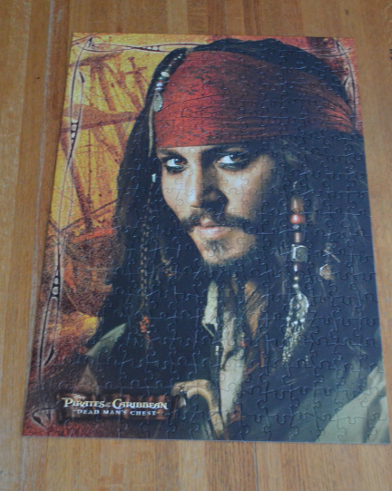 Disney Pirates of the Caribbean Dead Man's Chest 300 Piece Puzzle Complete