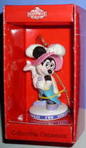 Disney Minnie Mouse Hollywood Schmid Porcelain Ornament - $33.66