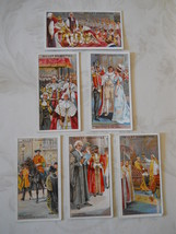 6 Wills's Cigarette Cards 1911 British Coronation Series #28, 29, 30, 32... - $9.50