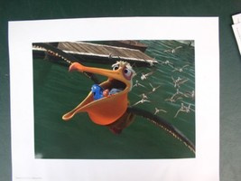 Disney Pixar Finding Nemo with Dory and pelagin  Lithograph - $19.34