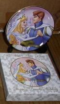 Disney Sleeping Beauty & Prince Wedding Porcelain Plate - $39.29