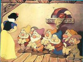 Disney Snow White & the 7 Dwarfs -  Special Edition Lithograph dated  1994 - $14.49