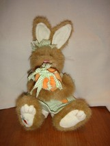 Boyds Bears Miracle Gardenglow Easter Bunny Rabbit Holding Carrot - $18.99