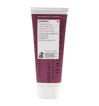 Korres Japanese Rose Body Milk With Almond Oil 200ml - $14.99