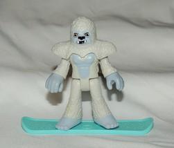 Neu Imaginext Blinde Tasche Serie 9 Yeti Snowboarder Abominable Snowman ... - $5.78