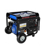 DuroMax Portable Generator 10,000 Watt  Gas Electric Start Wheel Kit Eme... - $1,009.72