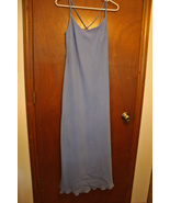 NWT Be Smart Periwinkle Blue Floor Length Dress - Size 9/10 - $24.99