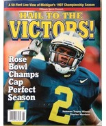 Michigan Wolverines Hail To The Victors Magazine, 1997 Season - FULL MAG... - $49.49