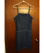 Faded Glory Denim Dress - Size Medium (8/10) - $11.99