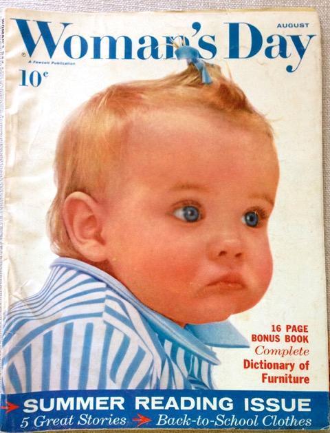 Woman's Day Magazine August 1960 - FULL MAGAZINE