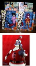 Futurama Amy & Clobberella Santa Robot  2 Action Figure - $78.04