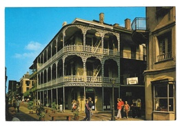 LA New Orleans Labranche Building French Quarter Vtg Postcard 4X6 - $4.99