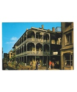 LA New Orleans Labranche Building French Quarter Vtg Postcard 4X6 - $4.99