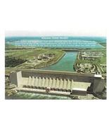 NY Niagara Power Project Hydroelectric Dam Vtg New York Postcard 4X6 - $5.69