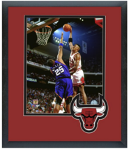 Scottie Pippen Bulls Game 3 of the 1993 NBA Finals -11 x 14 Matted/Frame... - $43.55