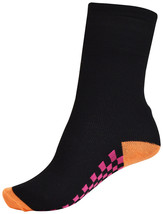 Pack of 3 : OCTAVE® Boys Black Socks With Checked Design - $5.51