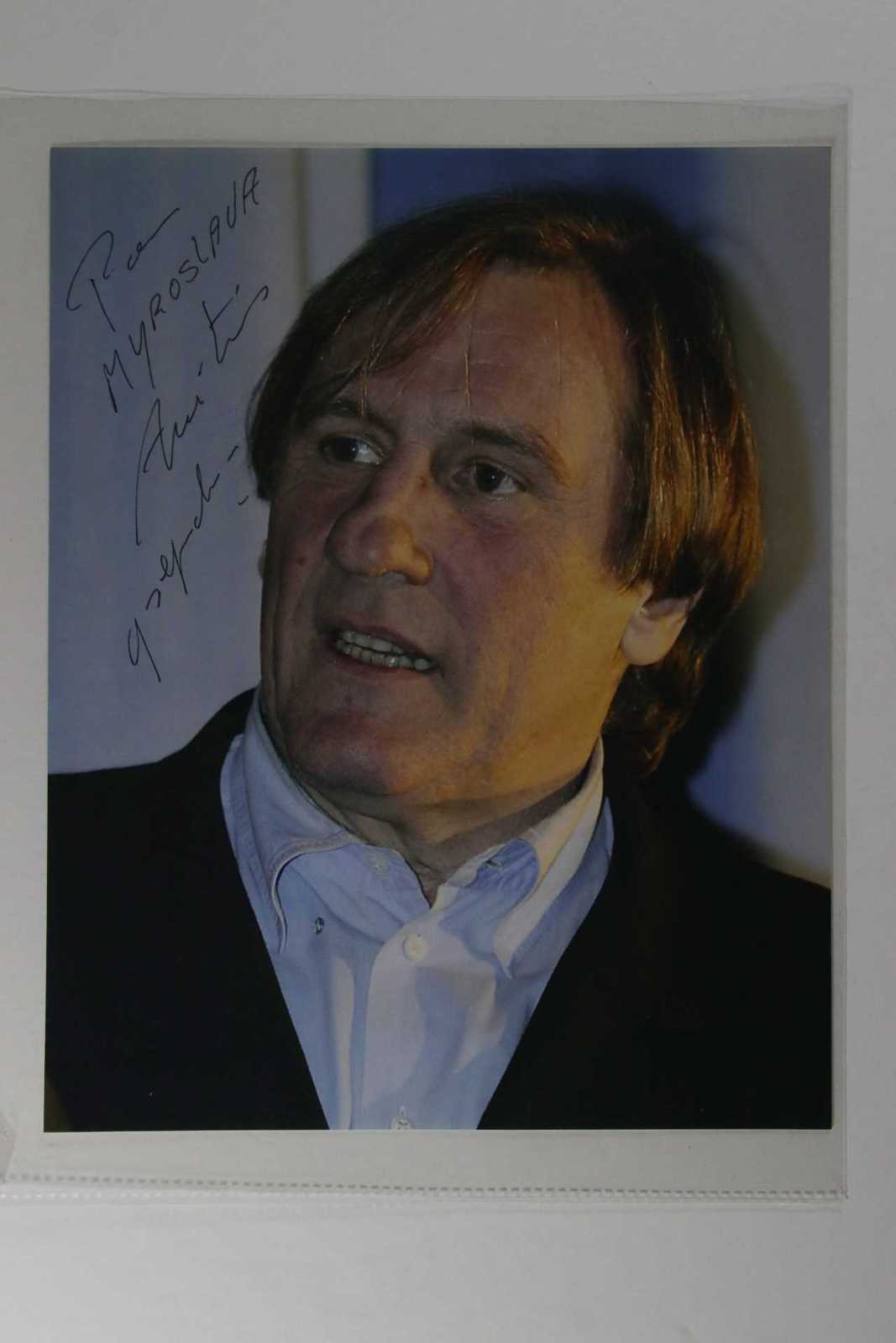 Primary image for Gerard Depardieu Signed Autographed Glossy 8x10 Photo