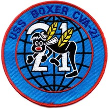 Us Navy Cva 21 Uss Boxer Patch  - $9.99